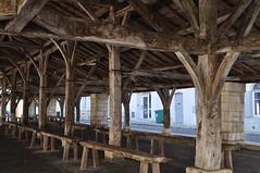 La Halle (XIVe-XVe-XVIIe-XVIIIe), Cozes, Saintonge, Charente-Maritime, Nouvelle-Aquitaine. - Photo of Grézac