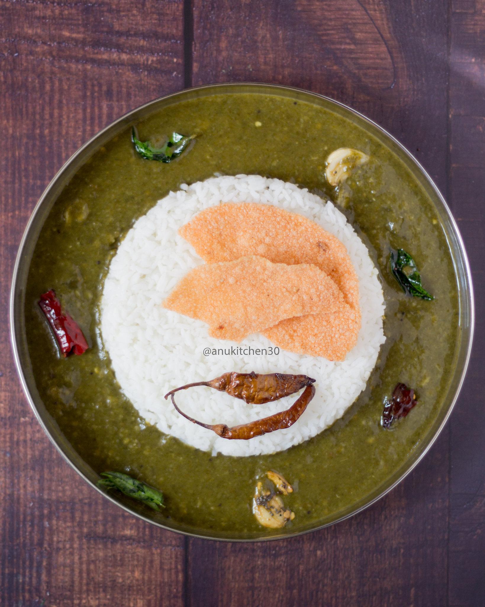 ಮಸೊಪ್ಪು (ಸೊಪ್ಪಿನ ಸಾರು) | Simple Mosappu (Soppina Saaru)