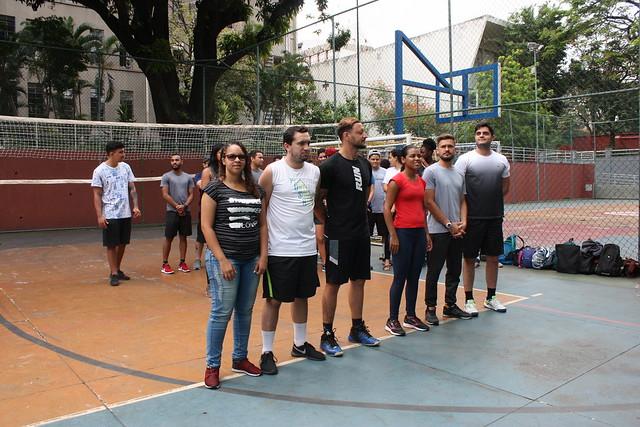 Campeonato de Peteca - Ed. Física