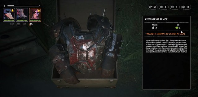 Mutant Year Zero - Axe Armor