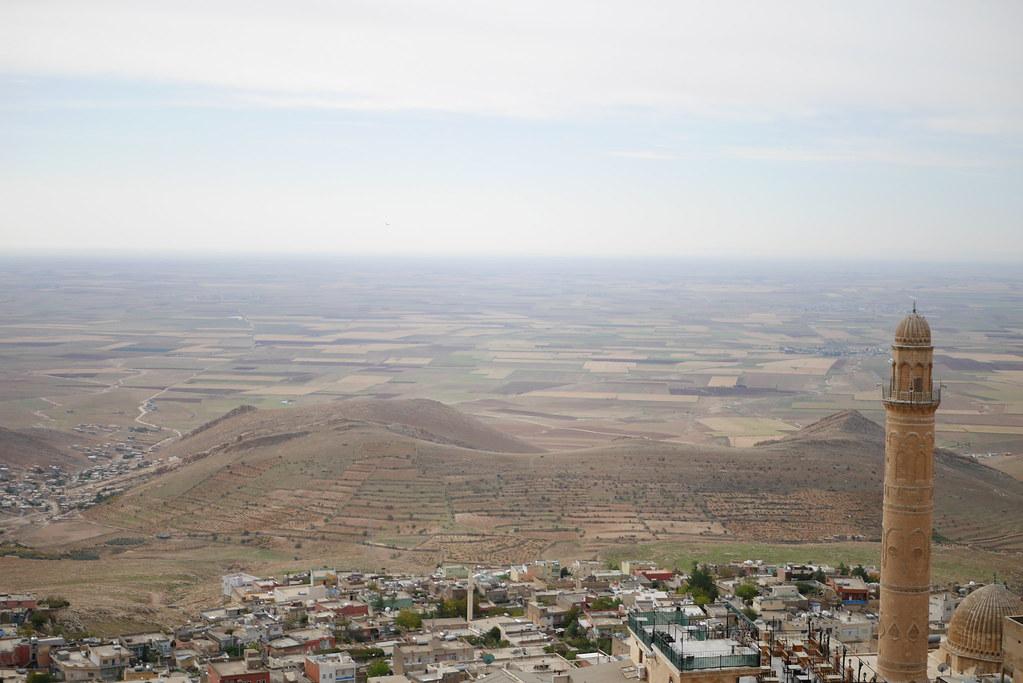 Mardin眺望美索不達米亞平原