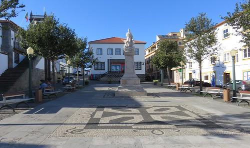 Praça da Câmara Municipal (Praia da Vitória, Açores)