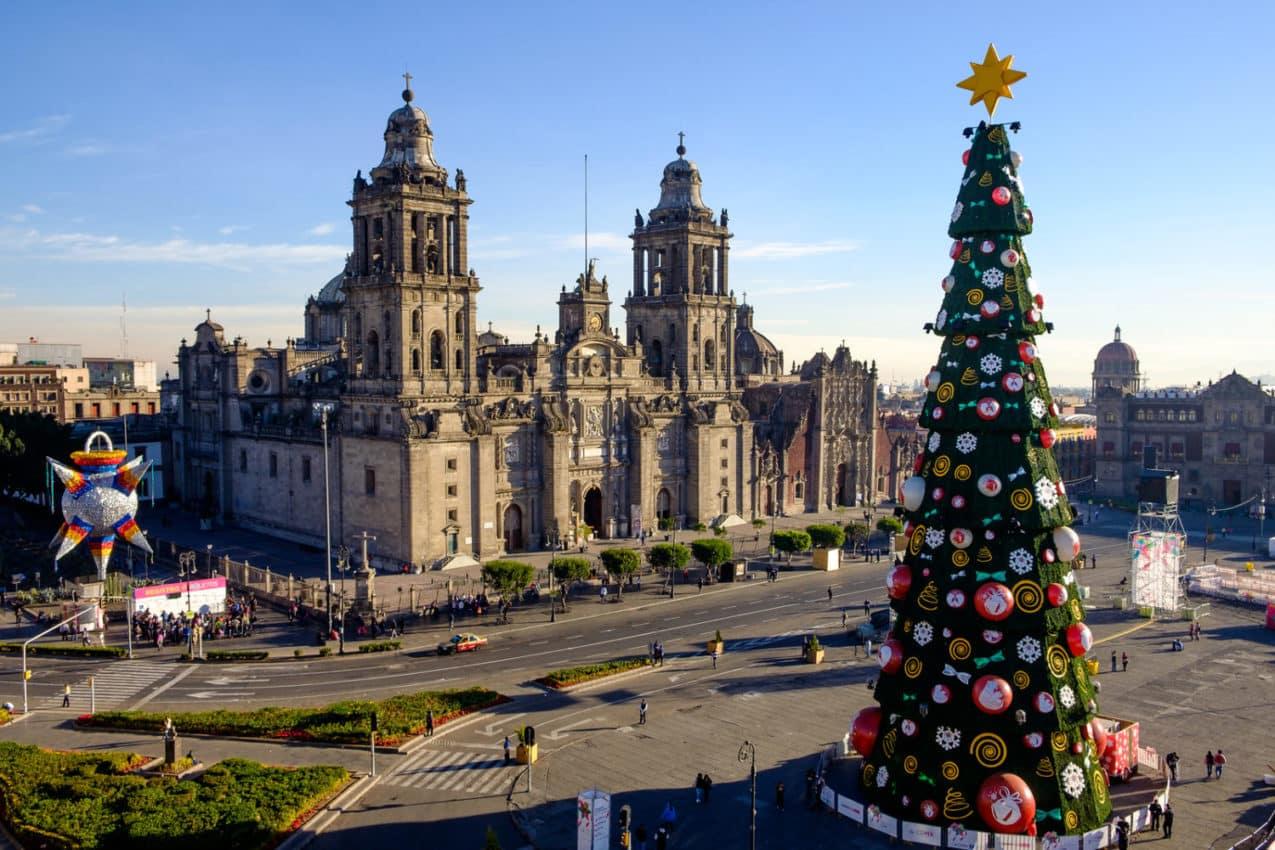 Christmas in México City