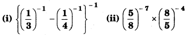 NCERT Solutions for Class 8 Maths Chapter 12 Exponents and Powers 7