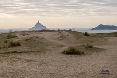 le Mont st Michel vu depuis laplage du bec d'andaine - Photo of Champeaux