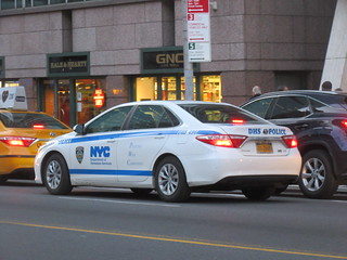 NYC Department of Homeless Services Police Toyota Camry