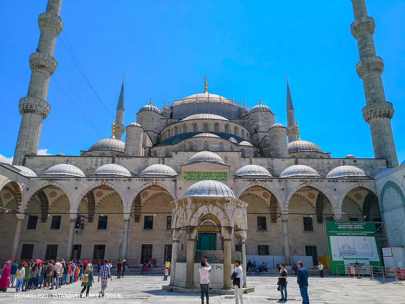 2018 Turkey Istanbul Sultan Ahmed Mosque