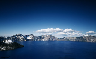 Crater Lake, Oregon. Original image from Carol M. Highsmith's America, Library of Congress collection. Digitally enhanced by rawpixel.