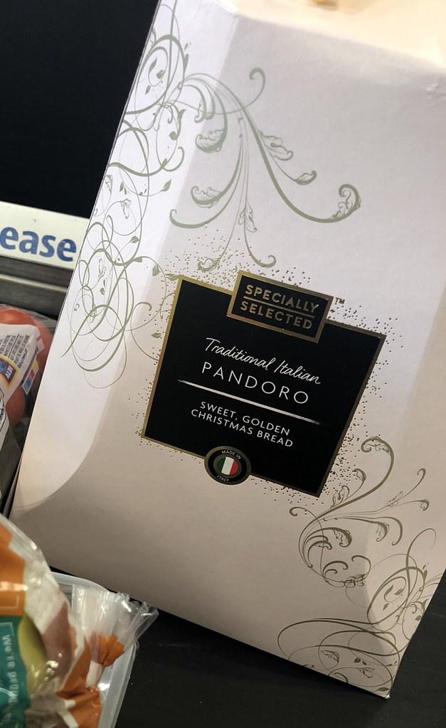 panettone from aldi
