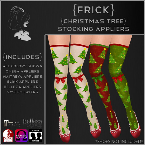 {Frick} Christmas Tree Stocking Appliers
