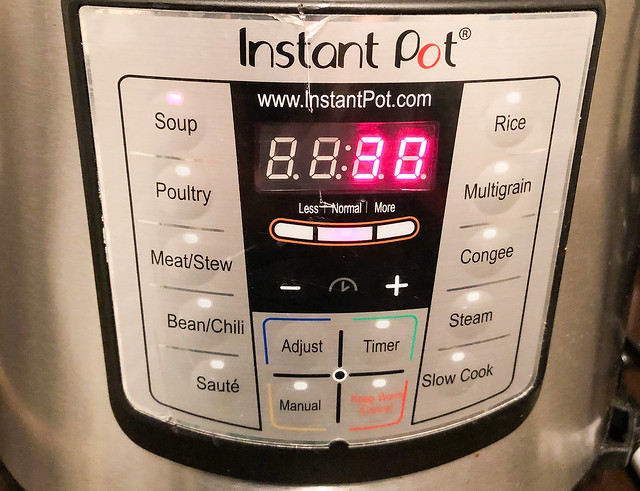 Suzie The Foodie's Instant Pot Carrot Curry Soup