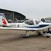 G-BYXZ_Grob_Tutor_T1_6FTS_'100YearsRAF'_RAF_Duxford20180922_2