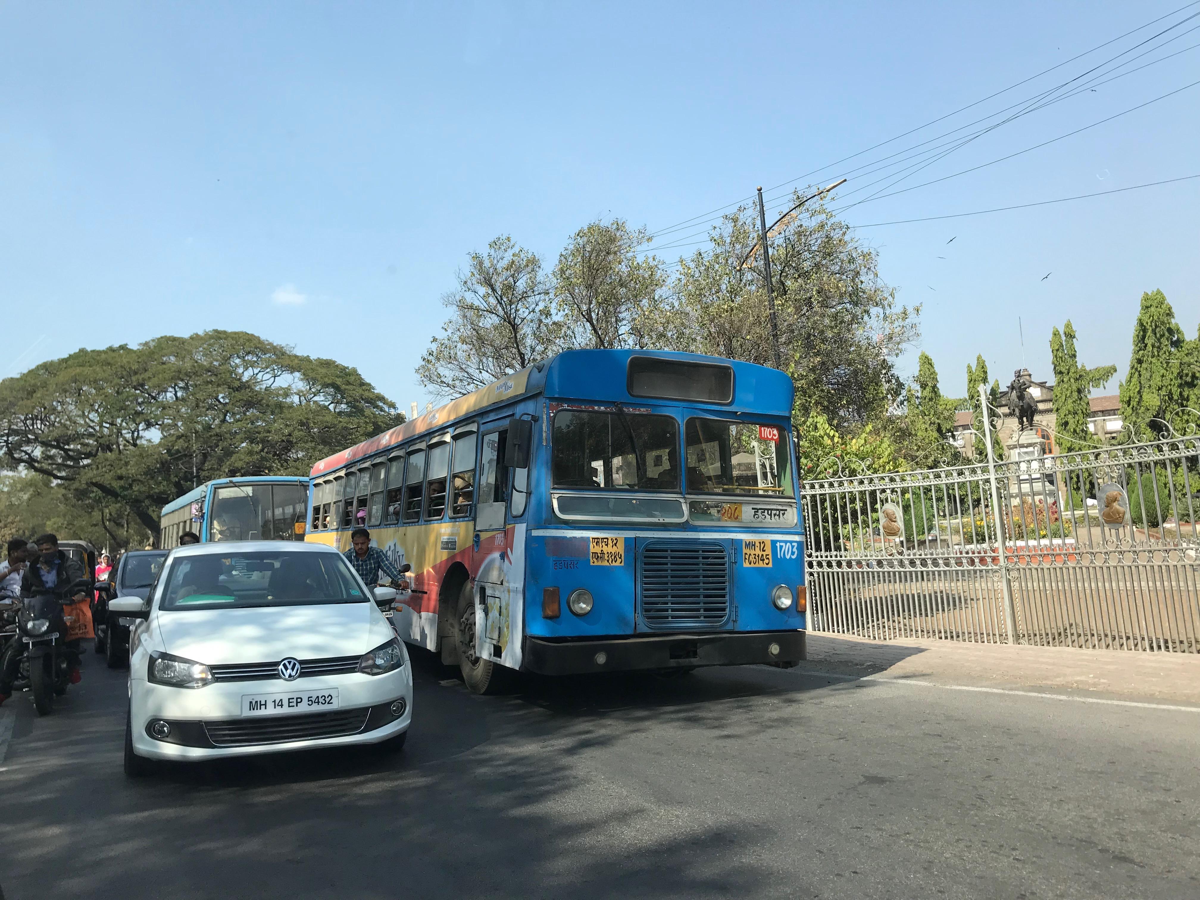 Leaving Pune
