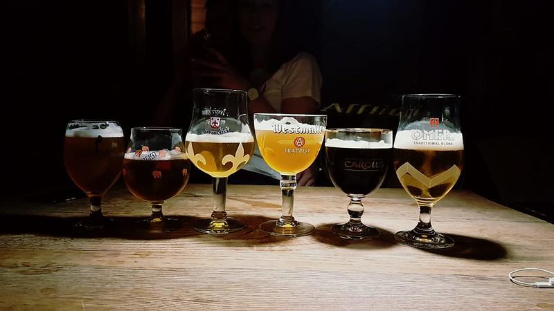 Variedad de cervezas en Hot Club