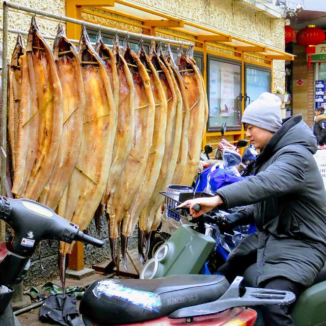 Salted morays, #Shanghai