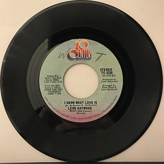 LEON HAYWOOD:I WANT'A DO SOMETHING FREAKY TO YOU(RECORD SIDE-B)