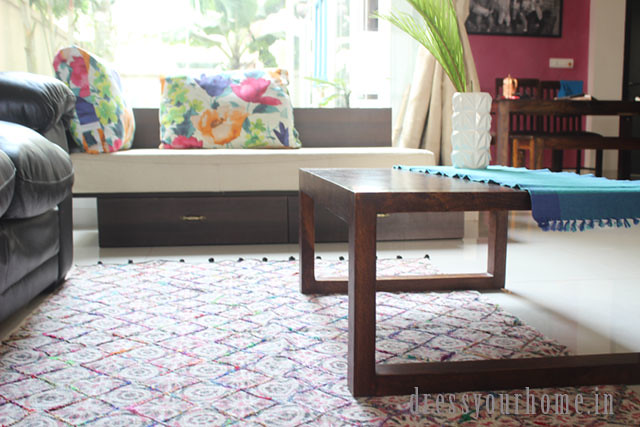 House of Ekam: Where to buy cotton handloom dhurries or rugs online in India