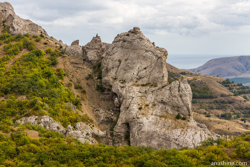 Скала, Крым