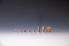 3D-printed ceramic parts made from lunar regolith