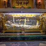 Roma (RM), 2018, Basilica di San Crisogono. Il corpo di Anna Maria Taigi. - https://www.flickr.com/people/81227945@N00/