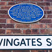 Wingates Square  This place was once a vibrant spiritual & cultural hub of the Wingates community.  Based on the Independent Methodist Chapel built in 1835.  The world famous Wingates Band was formed here in 1873, & 'Th' Square' has been the Band's home e