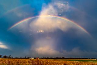 Winter Solstice Rainbow