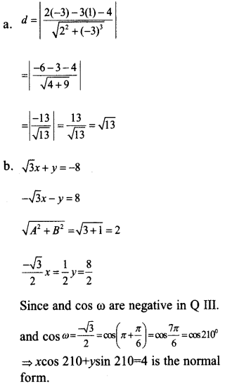 Plus One Maths Model Question Papers Paper 3A13