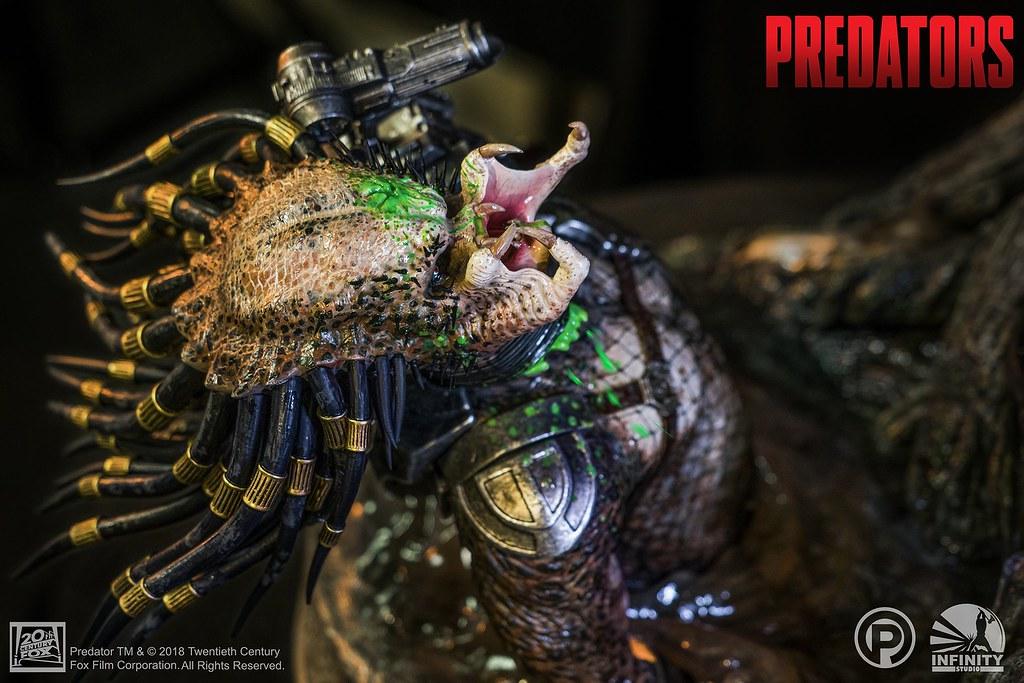 不愧對其頂尖實力的超高製作水準!! Infinity Studio《終極戰士團》狂戰士終極戰士 Berserker Predators 全身場景雕像作品 情報公開!