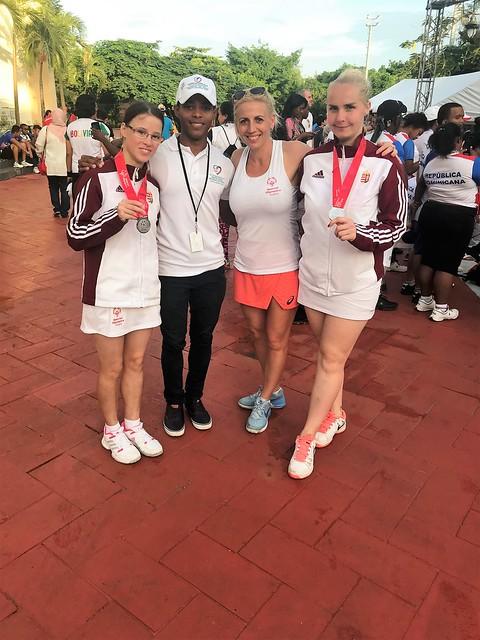Speciális Olimpia Tenisz világbajnokság, Dominika