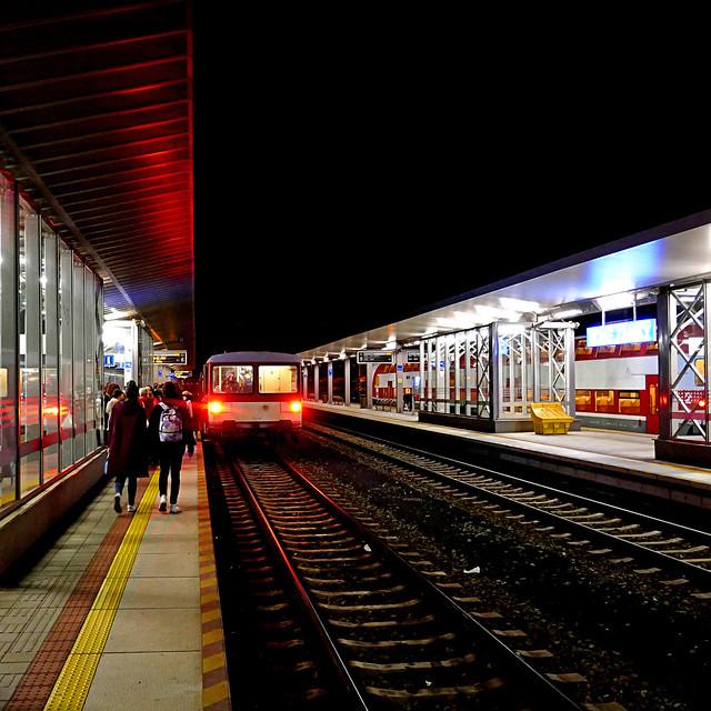 Nové Zámky Station, Slovakia