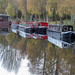 Boats on the Forth & Clyde Canal
