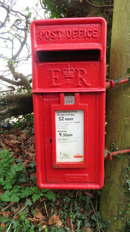 Letterbox in Langstone