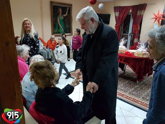 Κοπή πίτας στο Γηροκομείο Τρίπολης