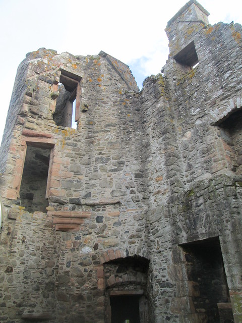 Huntly Castle Interior