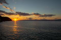 Mt Fuji at Sunset from Enoshima
