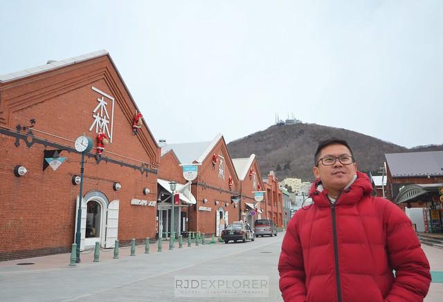 hokkaido itinerary hakodate Kanemori Red Brick Warehouses