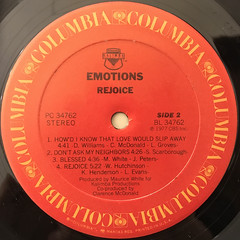 EMOTIONS:REJOICE(LABEL SIDE-B)