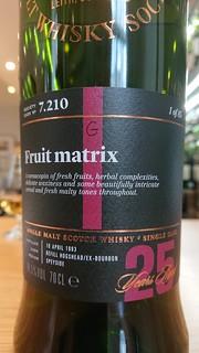 SMWS 7.210 - Fruit matrix