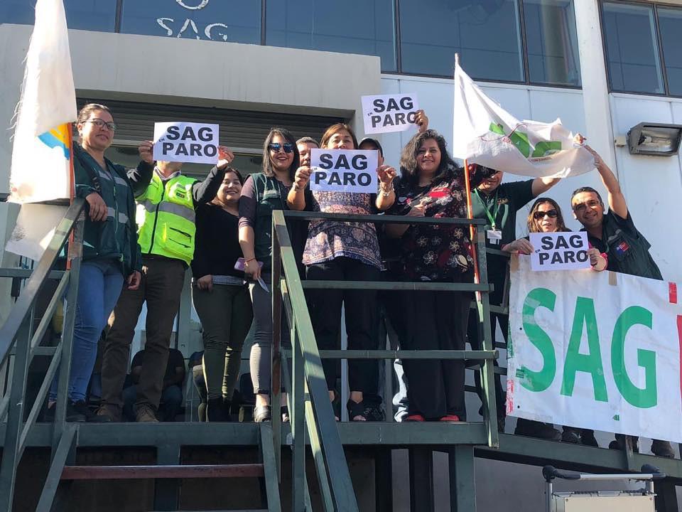 HOY continúa Paro Nacional MSP/CUT/ANEF y nuestra querida AFSAG sigue presente! - 27 Noviembre 2018