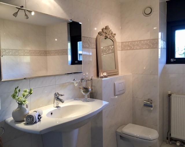 Badkamer landelijk klassiek kuifspiegel