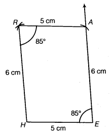 NCERT Solutions for Class 8 Maths Chapter 4 Practical Geometry 18