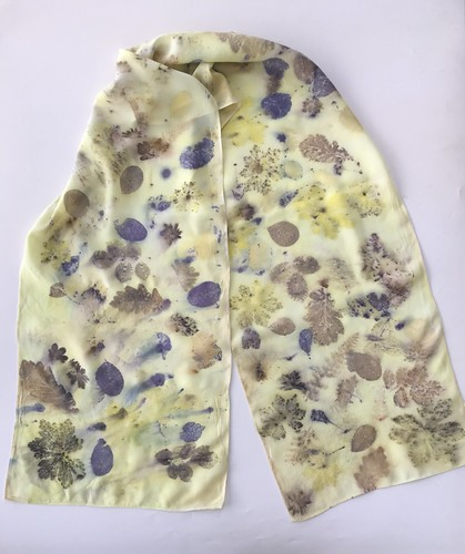 Eco Printed Scarves