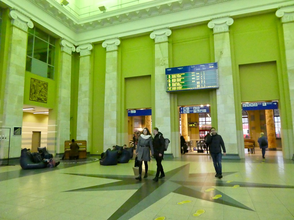 Railway Station Hall, Vilnius