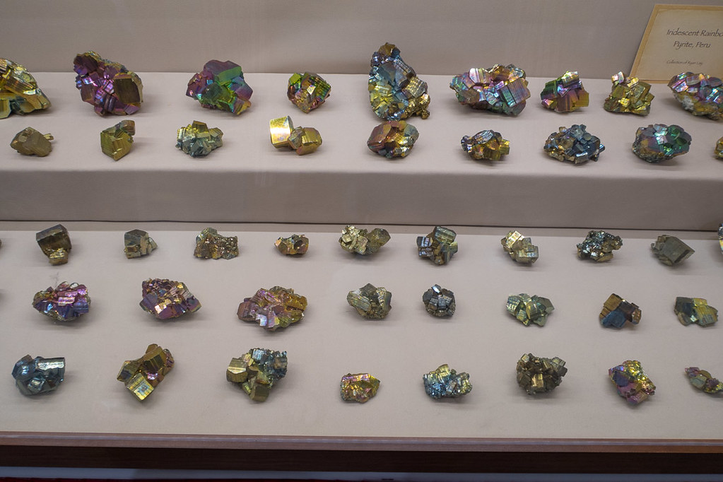 Gems and minerals on display at Tucson Gem and Mineral show