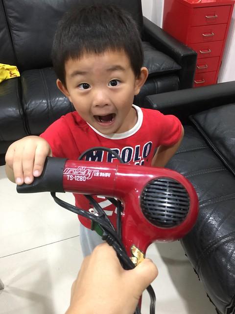 (體驗)平價好用推薦台灣【達新牌】光觸媒超水潤8000萬負離子吹風機 FD-808(艷桃紅)