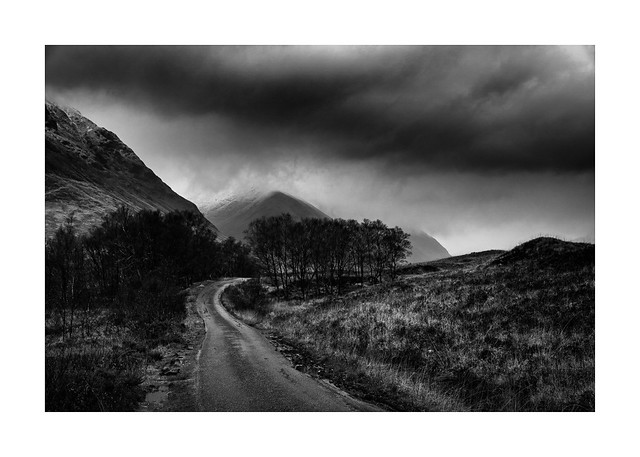 A miserable day at Glen Etive