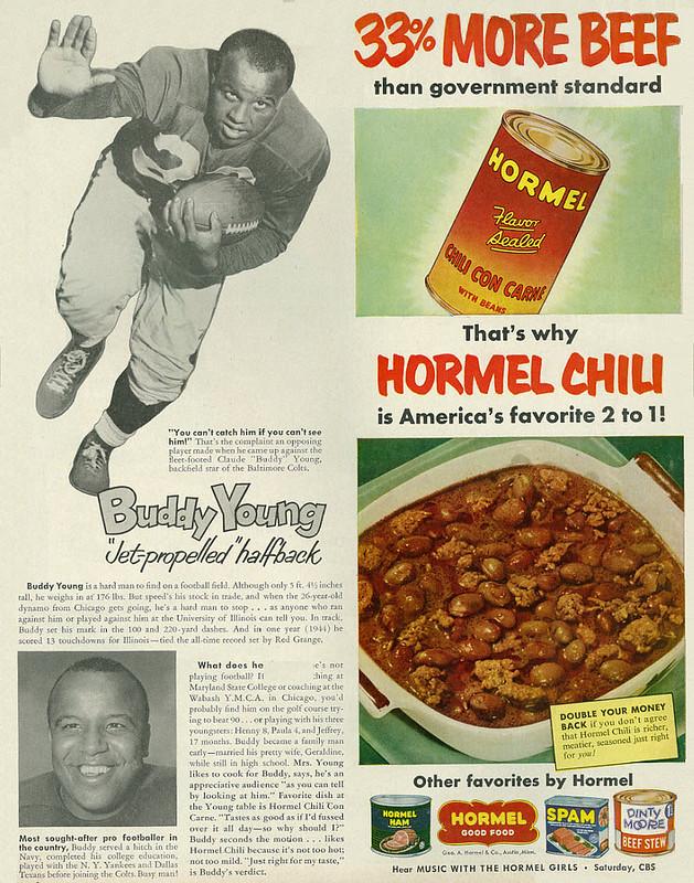 Hormel Chili 1953