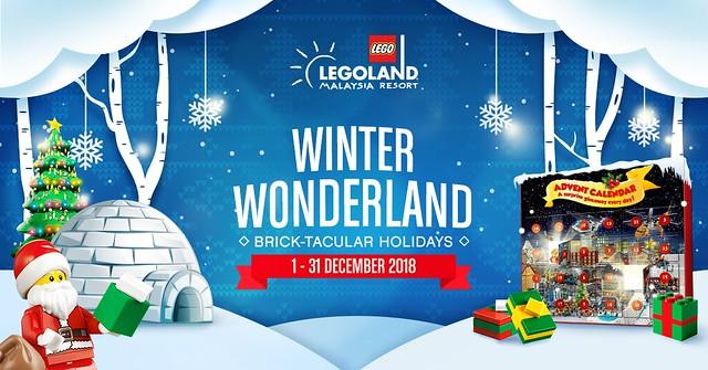 Legoland® Malaysia Resort Brick-Tacular 2018 (Horizontal)