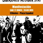 17.6.17 Queremos acoger ya - Manifestación