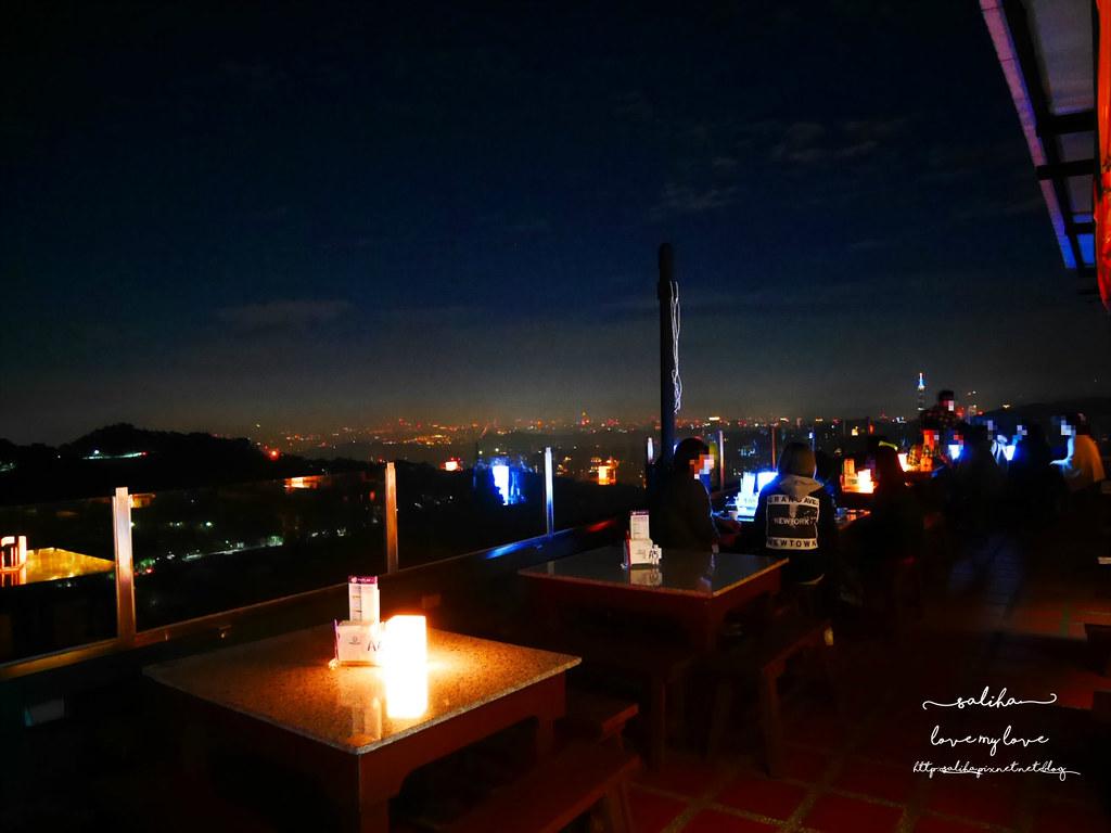 台北看夜景景觀餐廳咖啡貓懶MAOLAN餐點下午茶 (4)